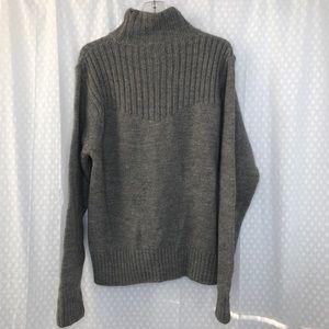 Victorinox Sweaters - Victorinox Swiss Army Sweater Mock Neck Knit Mens